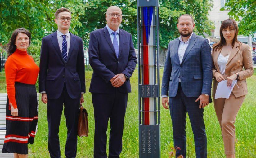 Візит Надзвичайного і Повноважного Посла Чеської Республіки в Україні Радека Матули в Житомирську політехніку