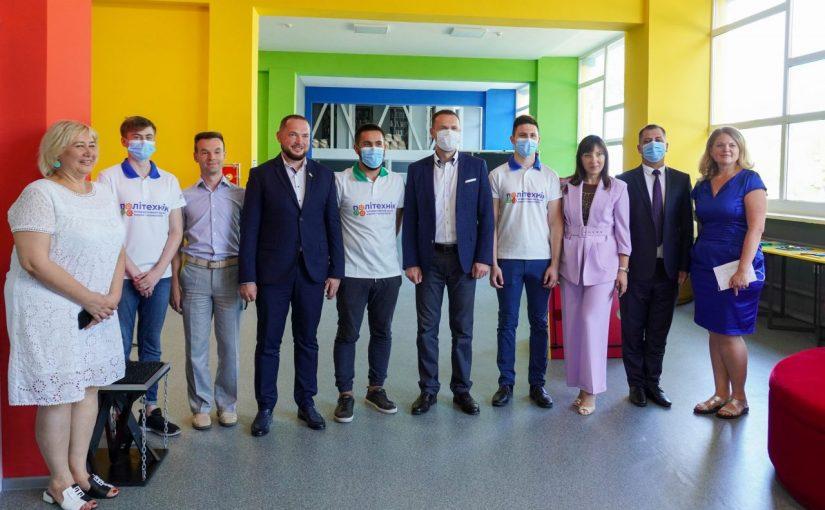 Візит Міністра освіти і науки України Сергія Шкарлета до Житомирської політехніки