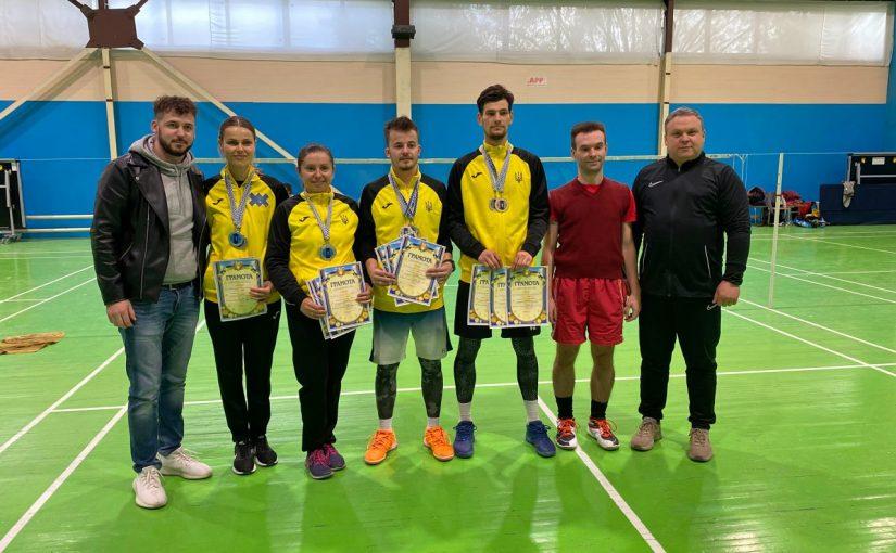 Чемпіонати Житомирської області з бадмінтону відбулися на базі Житомирської політехніки